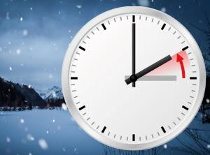 Ställa om klockan till Normaltid