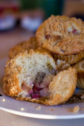 Rabarbrimuffinid / Rhubarb muffins