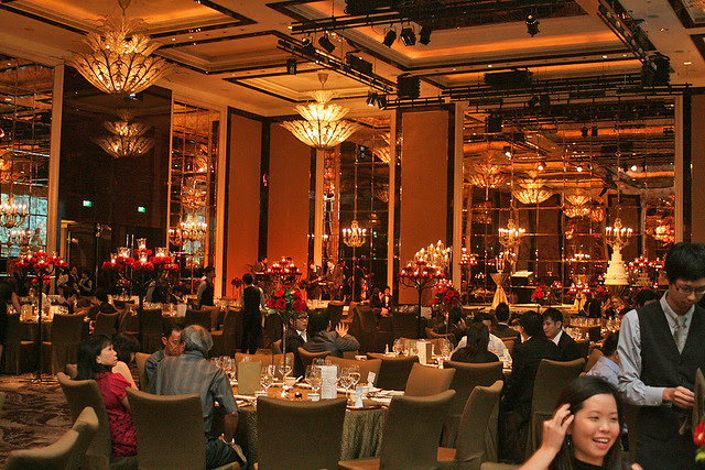 This is the John Jacob Ballroom at St Regis