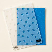 Lucky Stars Textured Impressions Embossing Folders by Stampin' Up!
