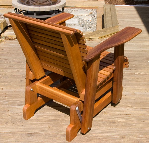 Free Building Plan For A Transitional Backyard Deck: Once: Glider Chair Plans Pdf