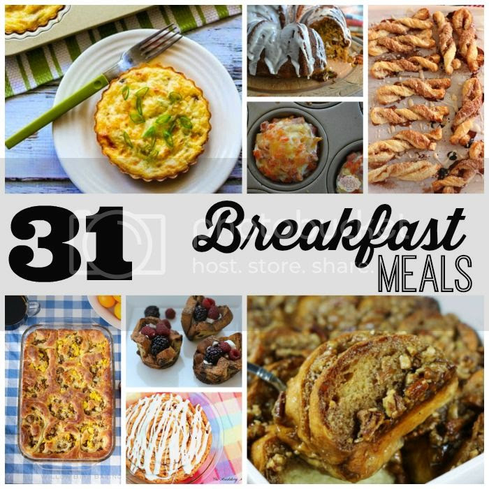 31 Breakfast Meals via My Very Educated Mother