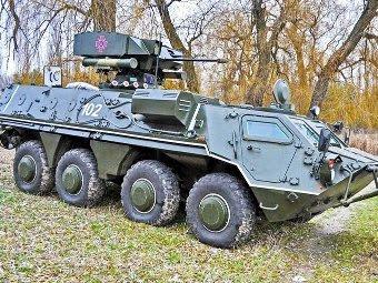 БТР-4Е. Фото с сайта mil.gov.ua