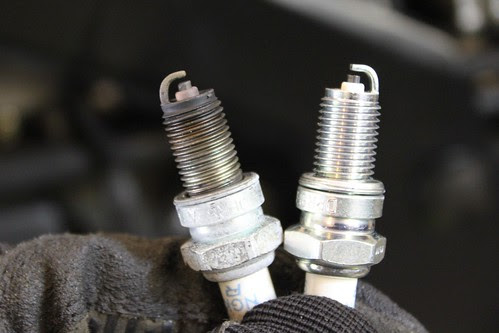 GS500 Spark Plug Replacement