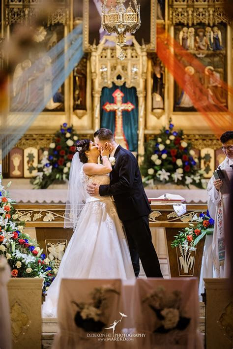 Kathy and Marcin?s Wedding at St. Florian Catholic Church