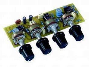 Mạch điều khiển Tone lm833 tl074 tda1524 lm1036