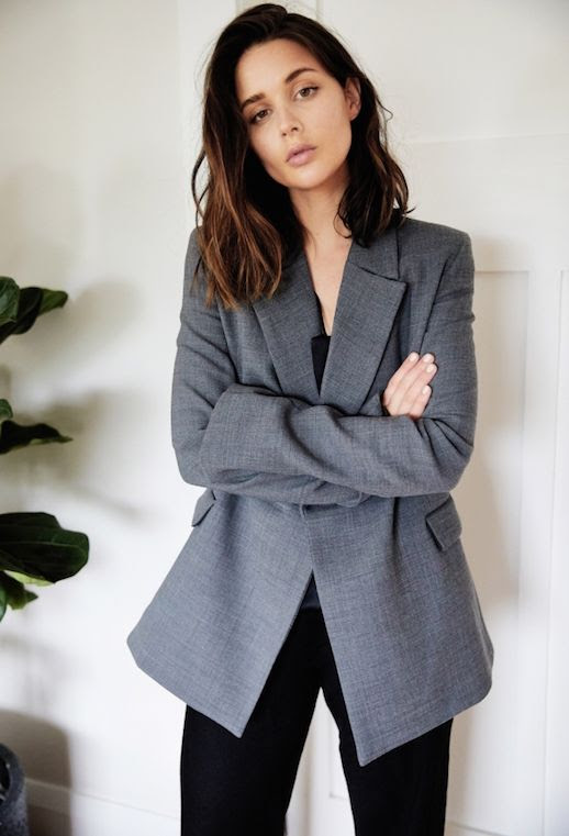 Le Fashion Blog Wardrobe Must Have The Gray Blazer Via Harper And Harley