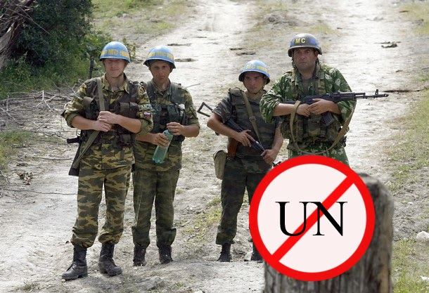 Russia blocks UN missia in Abkhazia