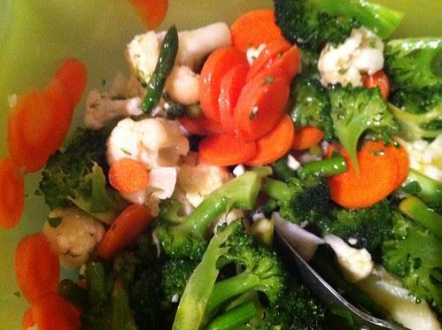 marinated veggies by unglaubliche caitlin