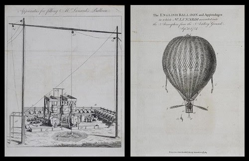 An account of the first aerial voyage in England 1784