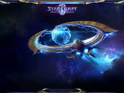 starcraft  heart   swarm ipad  desktop