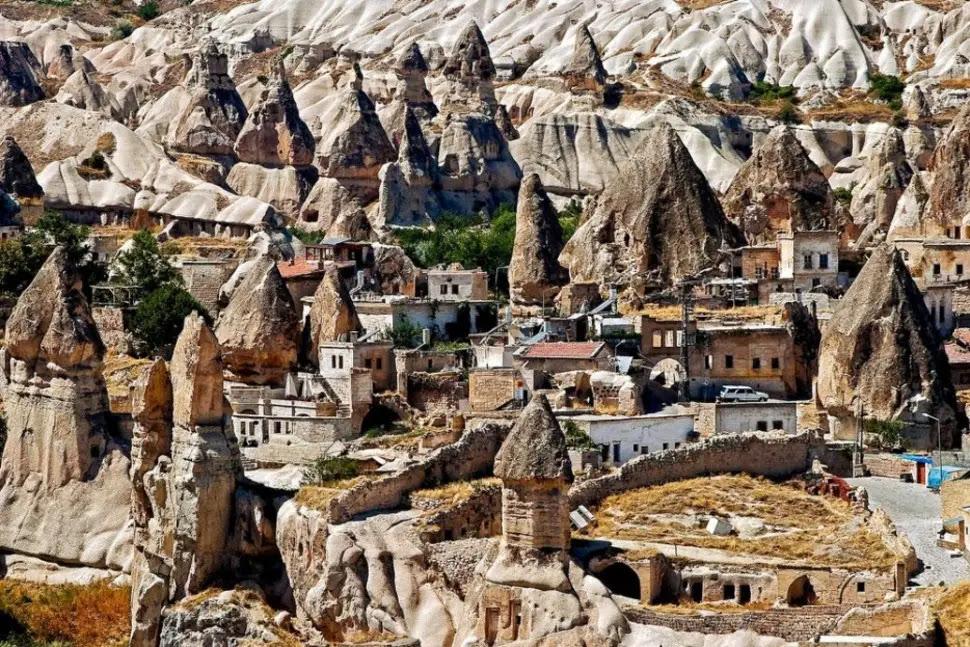 Goreme, en Turquie