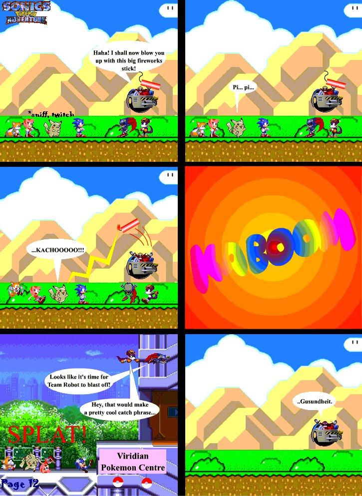 Sonic39;s Pokemon Adventure  page 12 by scruffymatt on