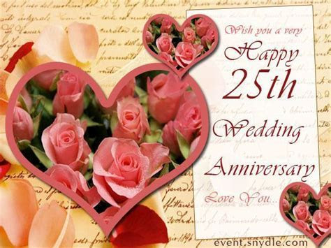Happy 25th Wedding Anniversary Pictures, Photos, and