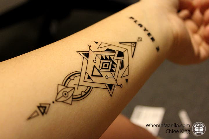 Express Yourself In 4 Easy Steps With These Temporary Tattoos When