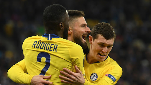Avatar of Dynamo Kiev 0-5 Chelsea (Agg: 0-8): Olivier Giroud nets perfect hat-trick in comfortable win