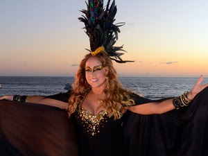 Daniela Mercury na Barra (Foto: Márcio Reis /Ag Haack)