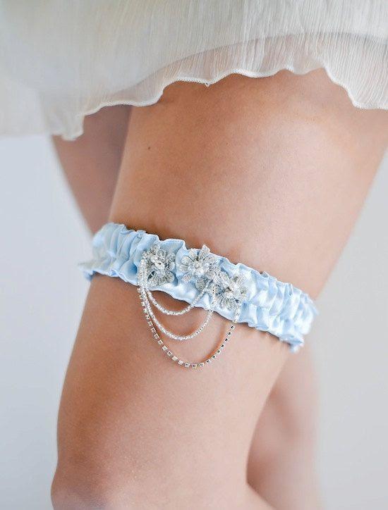 AUDREY vintage inspired wedding garter Great by percyhandmade