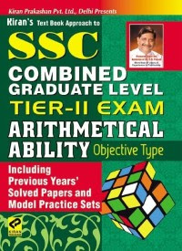 Buy SSC Combined Graduate Level Tier-II Exam, Arithmetical Ability Objective Type: Regionalbooks
