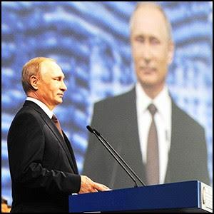 Владимир Путин выступает на ПМЭФ-2016