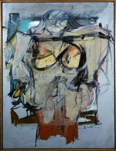 Willem de Kooning's Woman — Ochre (oil on canvas, 1954-55) has been missing for 30 years.