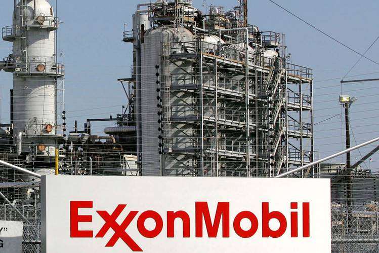 The Exxon Mobil refinery in Baytown, Texas.