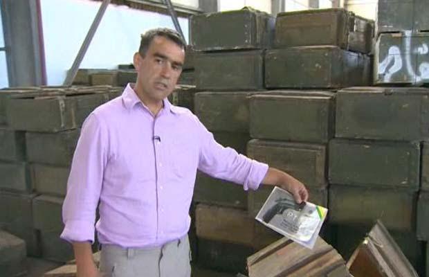 Armas brasileiras são encontradas em depósito secreto de Kadhafi
