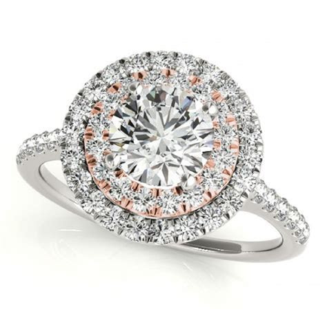 1.78 Carat Double Halo Diamond Engagement Ring ? Classic