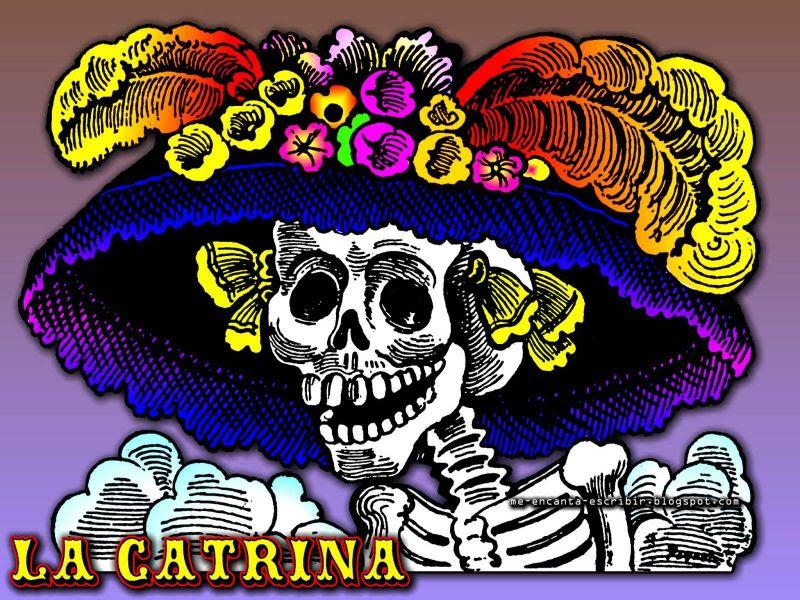 Fondos De Pantalla De La Catrina A Color Dia De Muertos Wallpapers