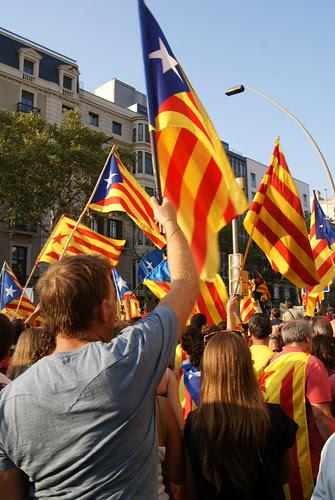 Manifestació de l'11-09-2012 a Barcelona per Teresa Grau Ros