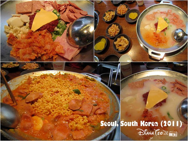 Last Day in South Korea 07 - Budae Jjigae