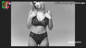 Julia Palha sensual em lingerie