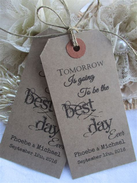 Tomorrow Is Going To Be The Best Day Ever Personalised