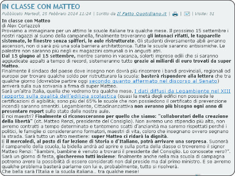 http://www.professioneinsegnante.it/index.php/2-notizie/6033-in-classe-con-matteo.html