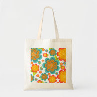 Summer Floral Eco Bag
