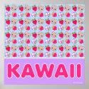 Mega Kawaii Sweet Pattern Giant Poster print
