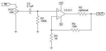 CMoy Headphone Amplifier Circuit - Electronic Schematic ...