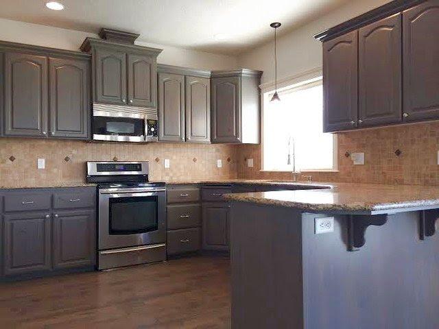 Stain Kitchen Cabinets - Home Furniture Design