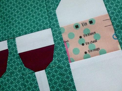 vin rouge detail