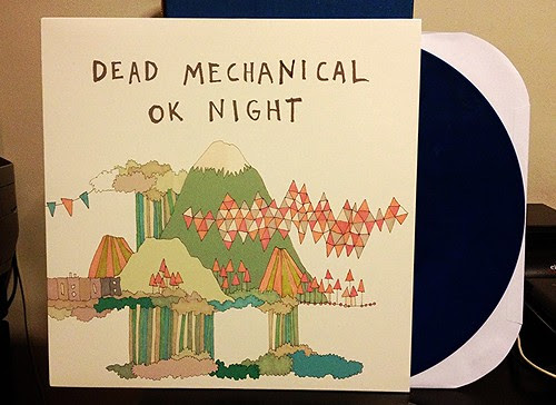 Dead Mechanical - OK Night LP - Blue Vinyl (/100) by Tim PopKid