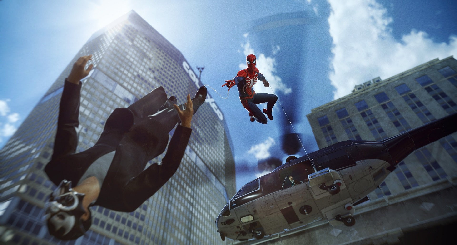 Insomniac's Spider-Man will be 'several times larger' than Sunset Overdrive screenshot