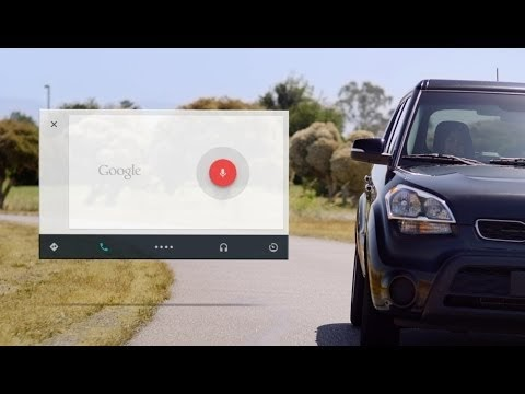 Android Auto - Google's attempt of improving voice navigation.