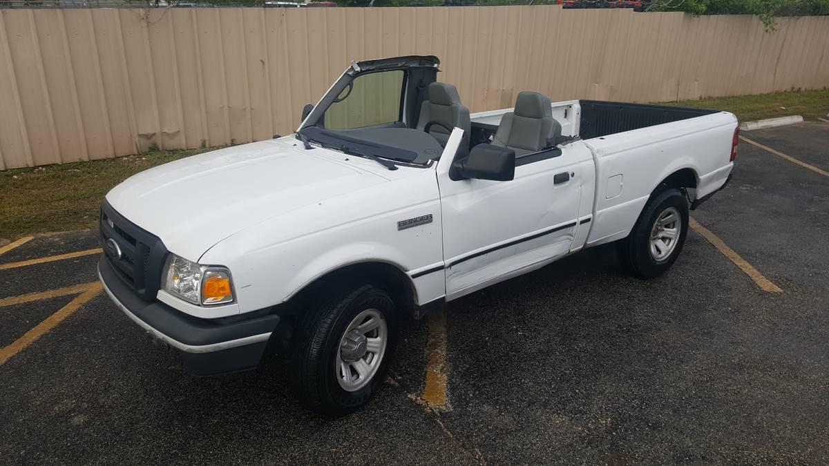 """Ford Ranger """"Cabriolet"""" Shows Up on eBay"""