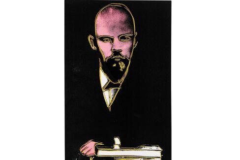 Andy Warhol, ο Λένιν (1986).