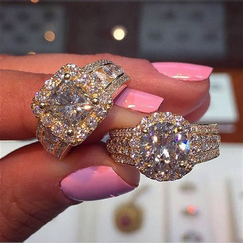 25  Round Wedding Rings   Ring Designs   Design Trends
