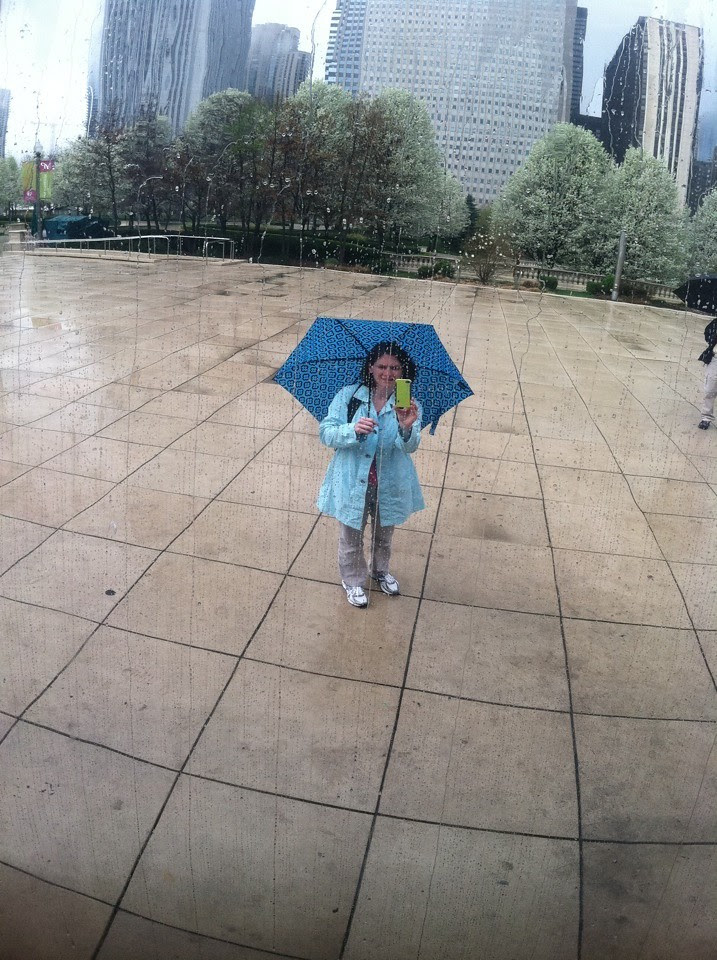 Just a bit of rain
