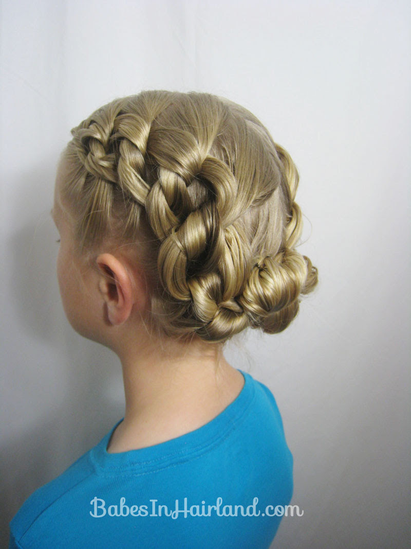 Chunky Knot  Updo  Babes In Hairland