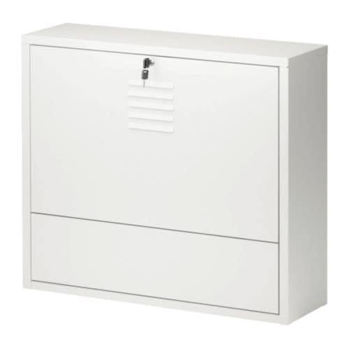 ИКЕА ПС Рабочее место для ноутбука, белый Ширина: 70 см Глубина: 20 см Высота: 60 см Макс. нагрузка/открыт фрнт пан: 25 кг