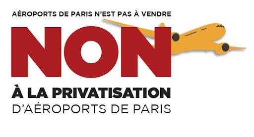 """Résultat de recherche d'images pour """"contre la privatisation adp"""""""