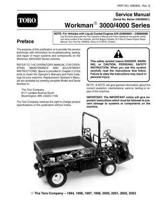 93808sl.pdf Workman 3000/4000 Series (S/N Below 240000000